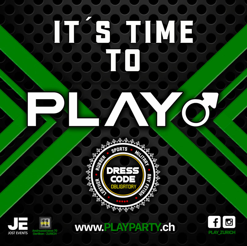 Play! Green Edition - Men only